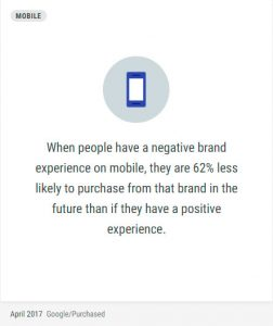 Brand experience on mobile
